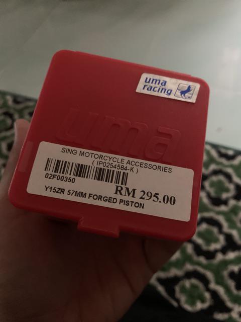 Y15ZR/FZ150i Uma Racing 57mm Forged Piston   Shopee Malaysia