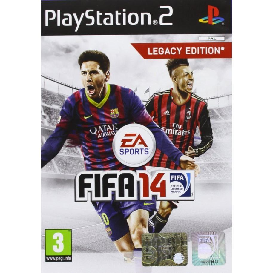PS2  FIFA 14 : LEGACY EDITION / FIFA Soccer 06 / FIFA Soccer 07 / FIFA World Championship [Burning Disk]