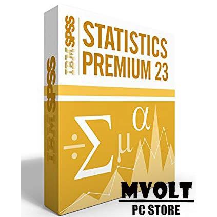 IBM SPSS Statistic 23 ( Mac )