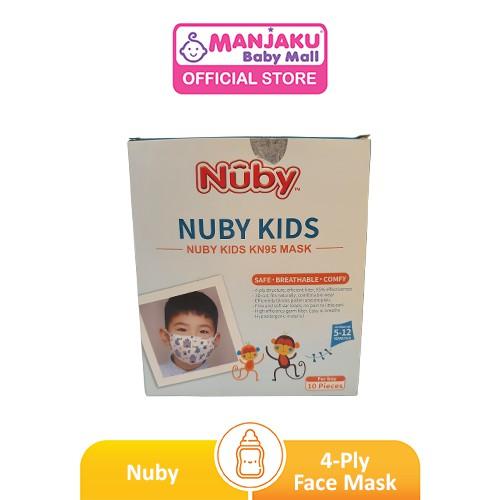 Nuby 4-Ply 3D Kids Mask (Boy) - Dragon (10pcs)