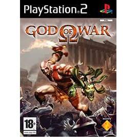 PS2  God Of War / God of War 2 [Burning Disk]