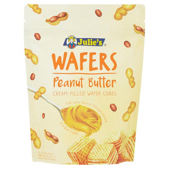 Wafers Peanut Butter Cream-Filled Wafer Cubes 150g