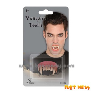 Bloodcurdling Vampire Werewolves Fangs Fake Dentures Teeth Costume Halloween  BB