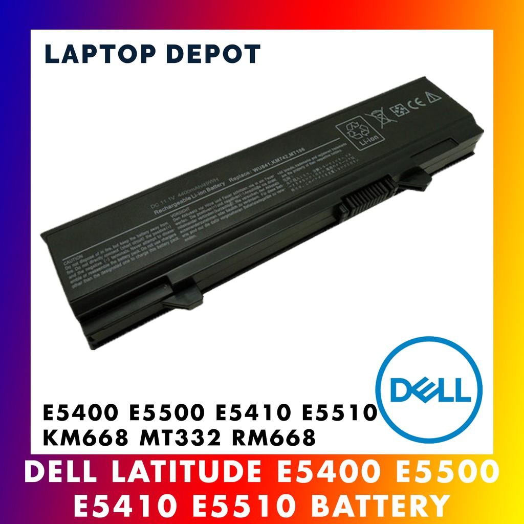Dell Latitude E5400 E5500 E5410 E5510 KM668 MT332 KM752 KM760 Laptop Battery