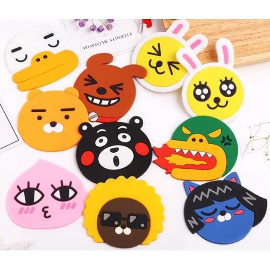 Cute Nampan Makanan Gambar Kartun Coaster Food Tray Cartoon