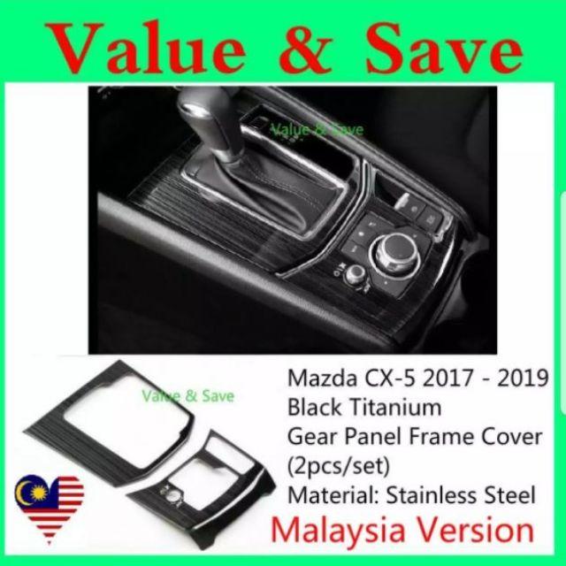 GPS Navigation Screen Steel Protective Film Trim For Mazda CX-5 CX5 2017-18