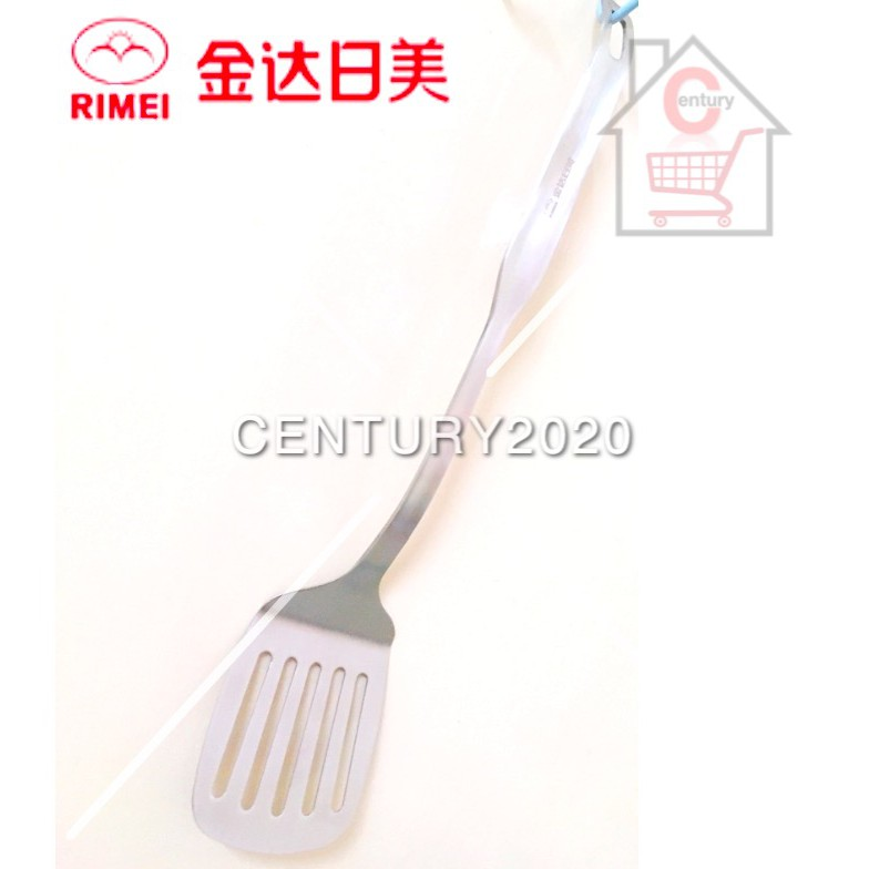 RIMEI Stainless Steel Slotted Spatula Kitchen Cooking Tools Durable Heat-Resistant Kitchen Utensils