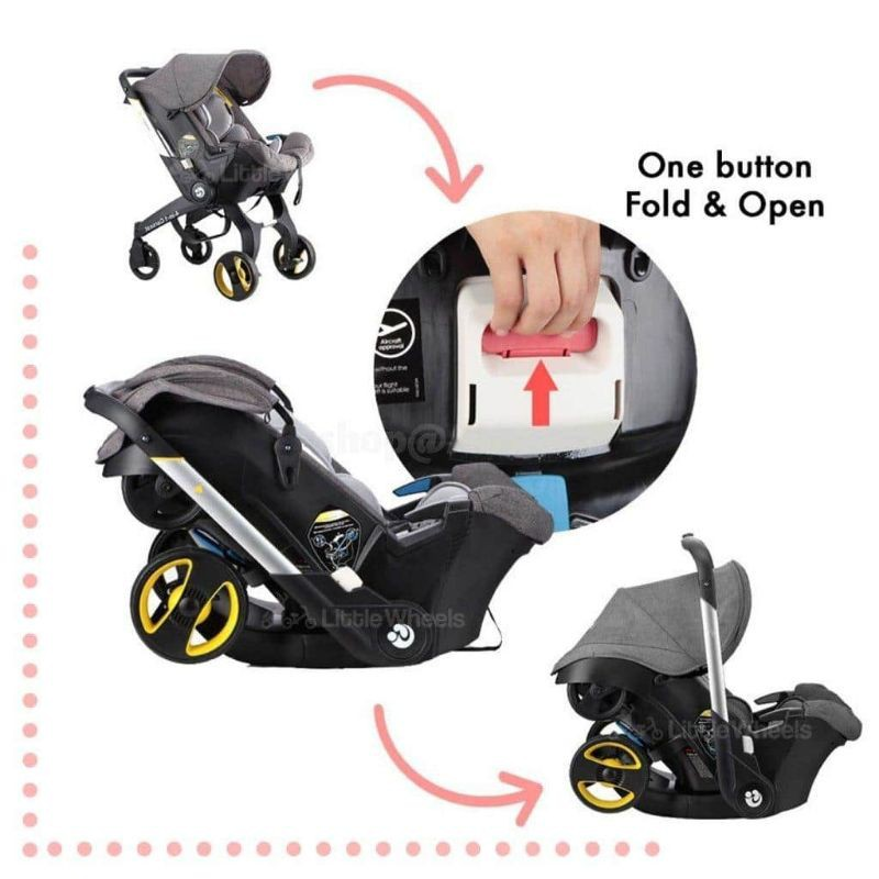 Hot Item looking for Baby Stroller. Doona 4 in 1 ...
