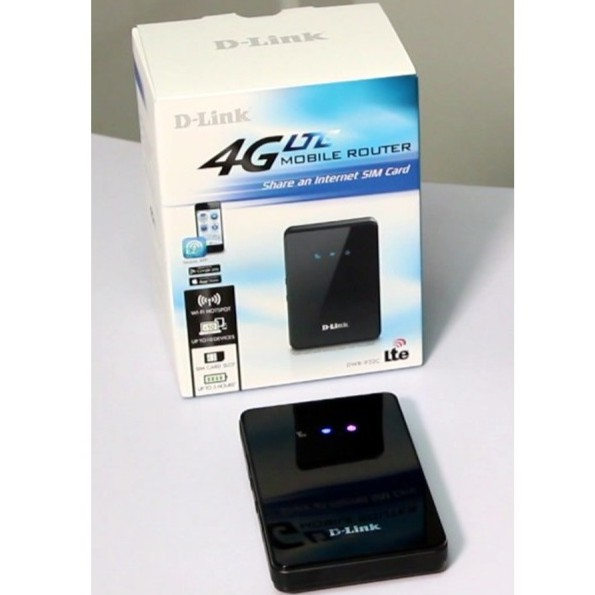 [Used] 99% New Dlink 4G LTE Mobile Router DWR-932C (6 months official  warranty)