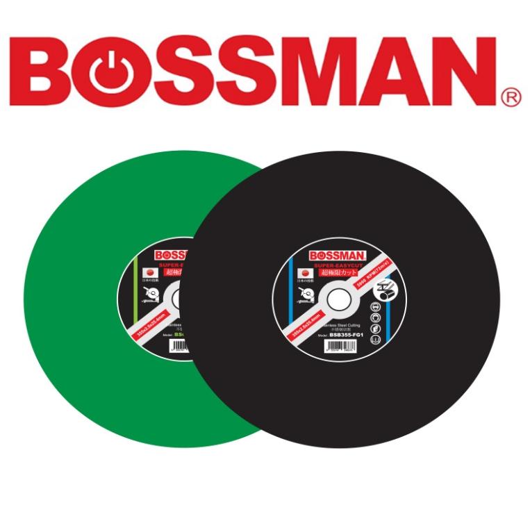 BOSSMAN BSG355FG1 /BSB355FG1 SUPER EASYCUT CUTTING DISC 14'' SUPER ESAY-CUTSERIES ACCESSORIES EASYUSE SAFETY GOODQUALITY