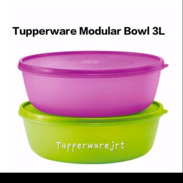 Tupperware Modular Bowl 3L (2 pcs)