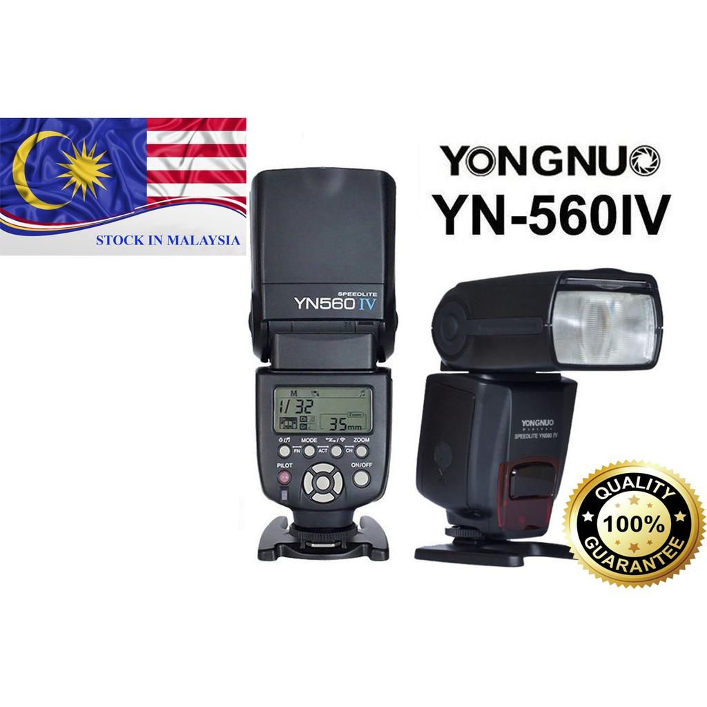 Yongnuo YN560-IV Speedlite For Canon Nikon DSLR (Ready Stock In Malaysia)
