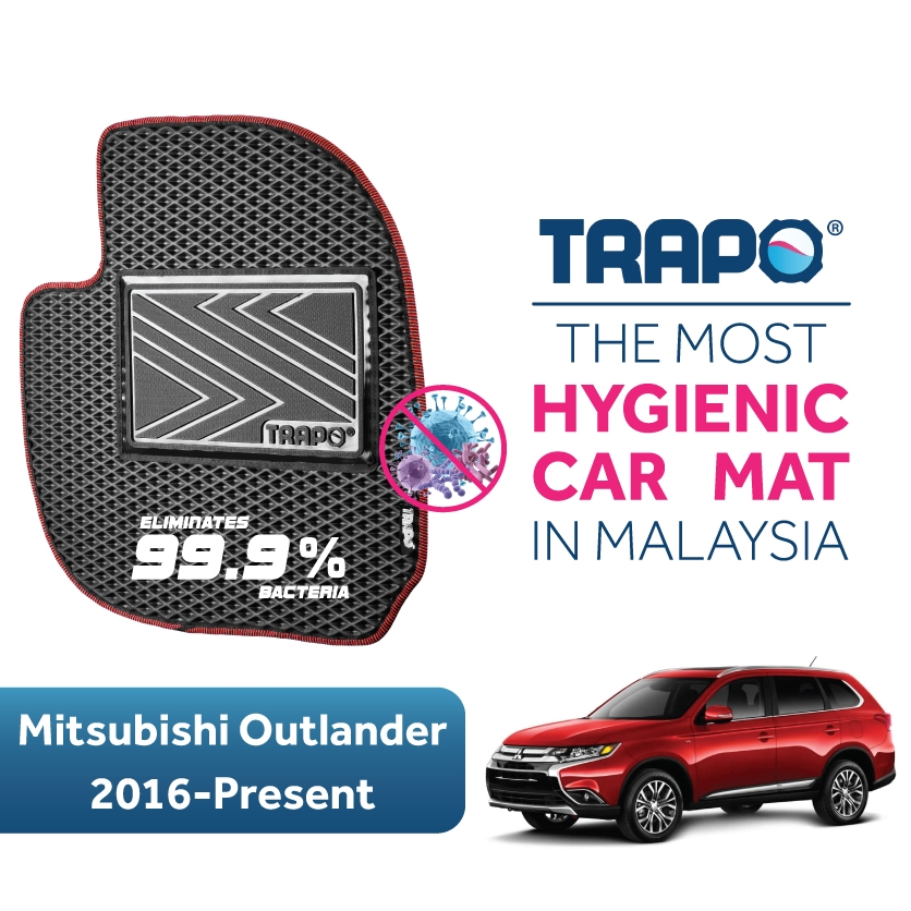 MITSUBISHI OUTLANDER 13-ON NEW UNIVERSAL CAR CARPET FLOOR MATS SET OF 4