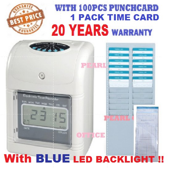 OFFER ( SPECIAL ) TIME RECORDER PUNCH CARD MACHINE
