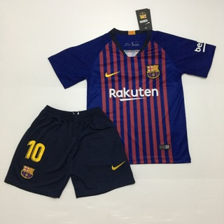 huge selection of 2daa3 d3a67 Barcelona Home 18/19 Kid Jersey + MESSI 10 | Shopee Malaysia