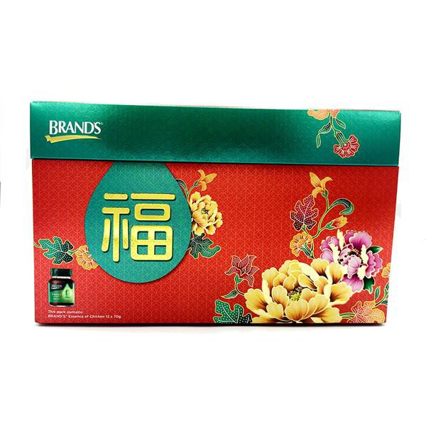 CNY Hamper Brands Essence of Chicken 70gX12 + 5 Angpows