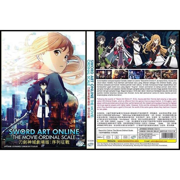 Sword Art Online (TV 1 - 25 End) DVD | Shopee Malaysia