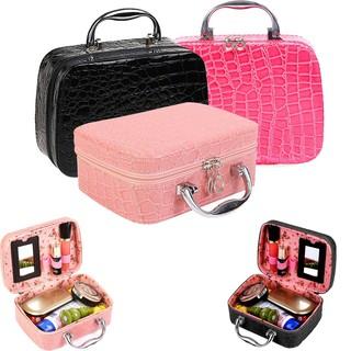 💝READY STOCK💝 Pro Makeup Storage Bag Jewelry Box Cosmetic Organizer Beg