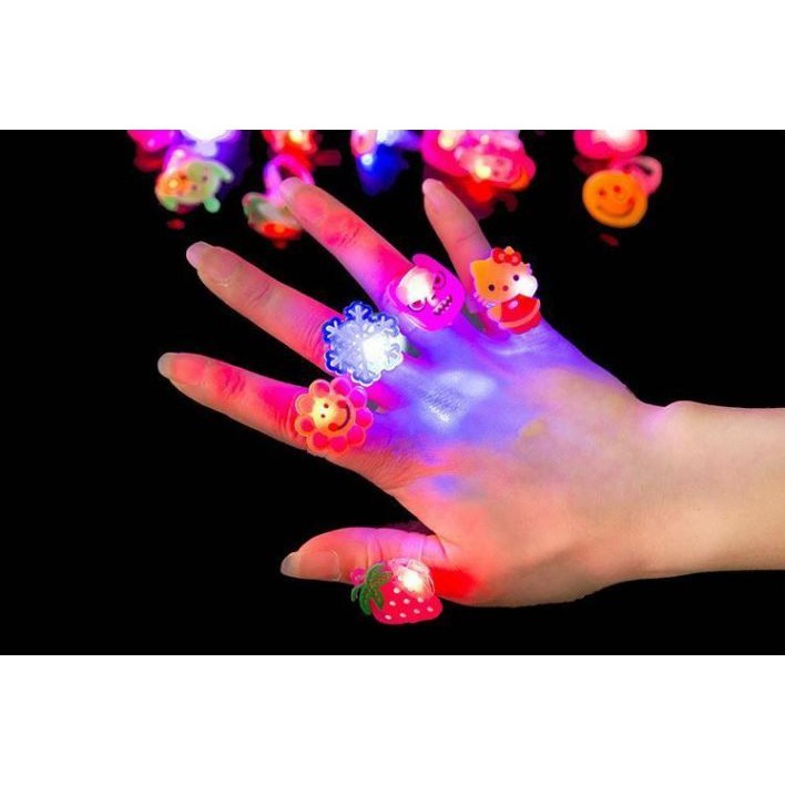 [Ready Stock] cartoon LED Ring