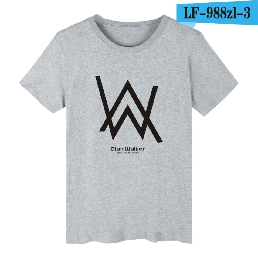 7636b0b95 Alan Walker Dj T Shirts For Men Men Punk Casual Design Tee Shirt | Shopee  Malaysia