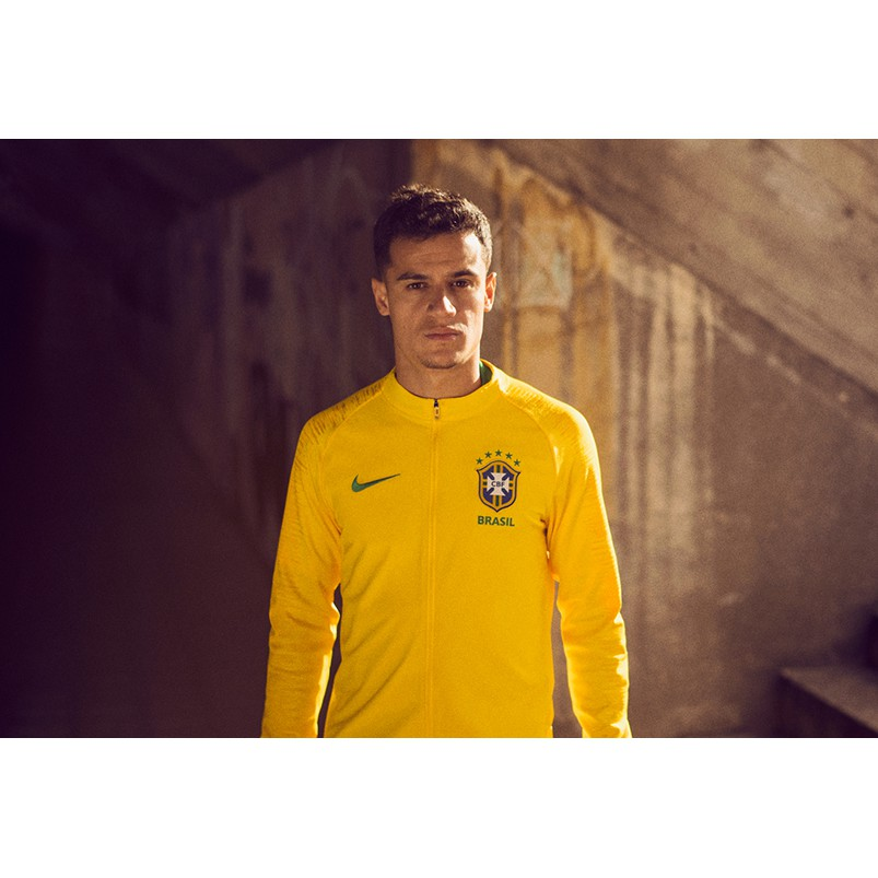 Brazil Tracksuit Yellow World Cup 2018