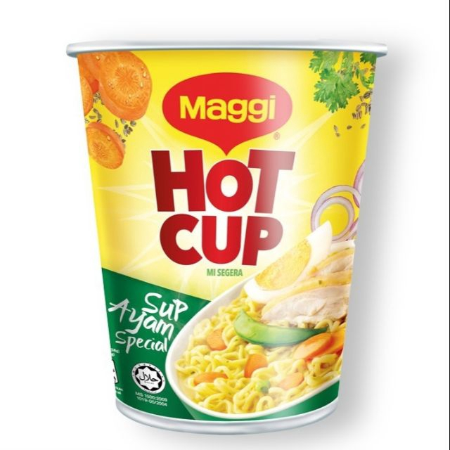 Maggi Hot Cup Chicken Noodles 63g