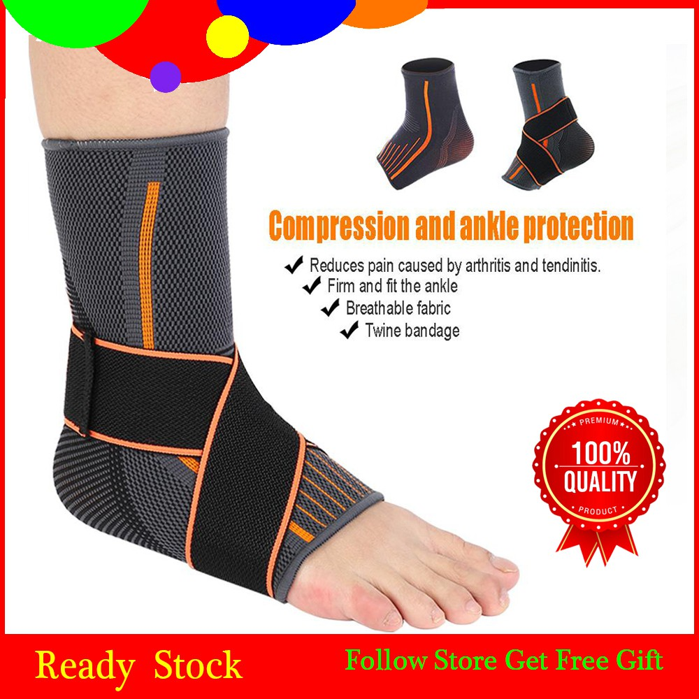 1 Pair Elbow Knee Ankle Gym Running Support Hand Palm Wrist Foot Proctector | Shopee Malaysia