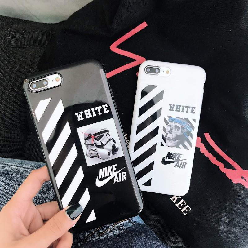 big sale first rate get new OFF White Nike Air Soft IMD Phone Case Cover For iPhone 6 6S 7 8Plus X XR  XS Max
