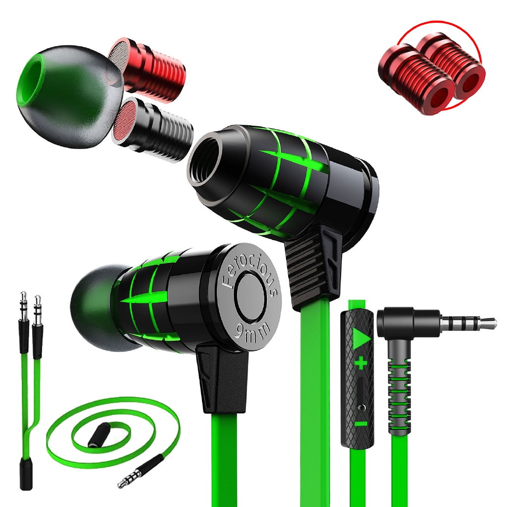 Original Plextone G25 Super Bass Bullets Style Gaming Earphone With Mic Magnetic earphones headphones