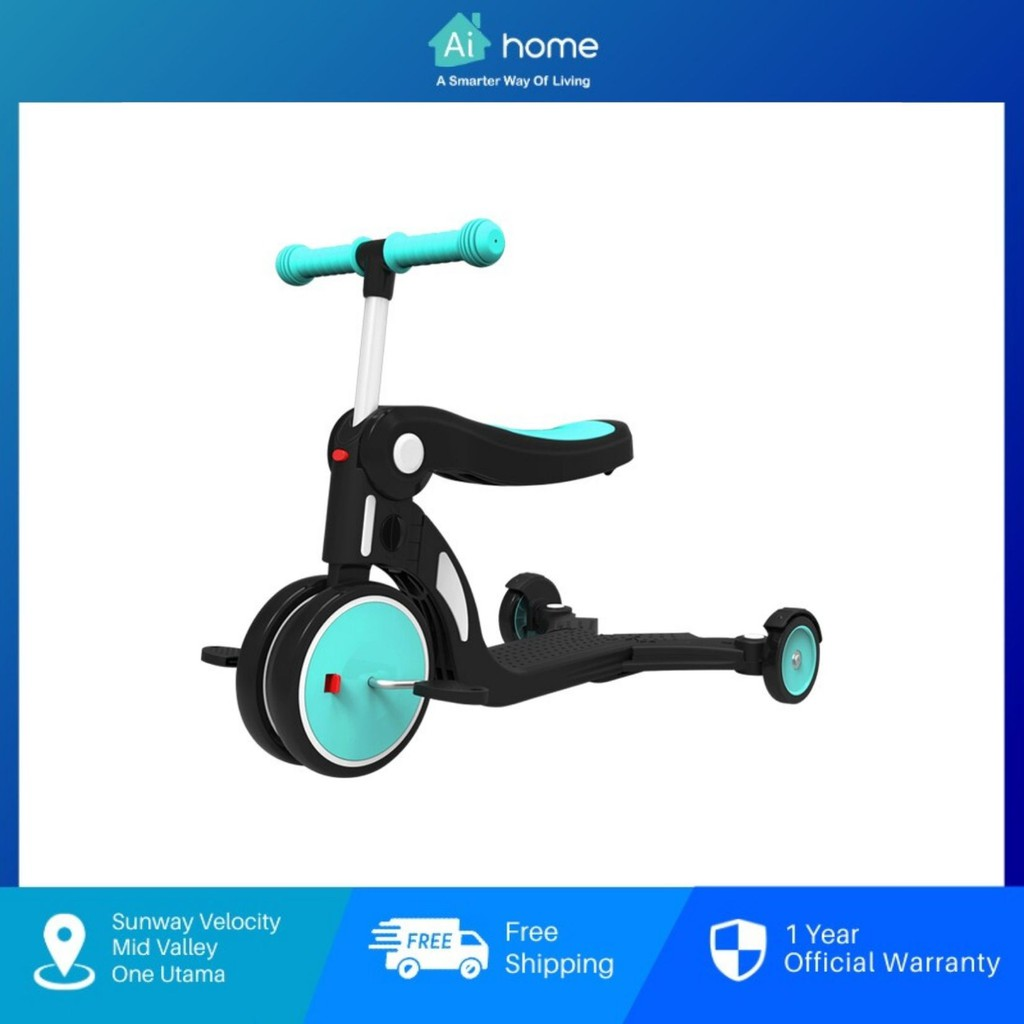BEBEHOO 5 IN 1 Multifunctional Transformed Children's Scooter - 5 Ways   Fast Deformation   Quick Fitting [ Aihome ]
