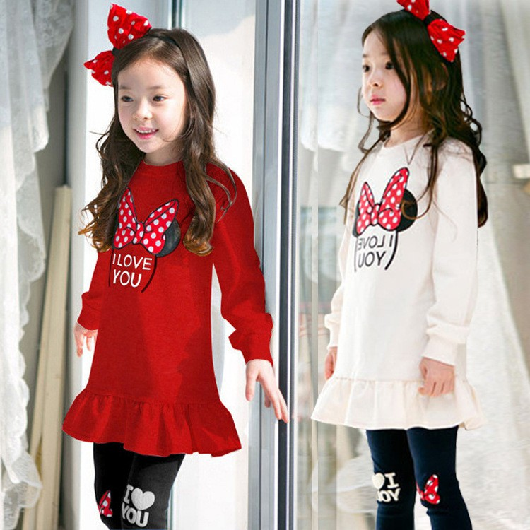 Autumn Baby Girls Outfits Set Toddler Warm Blouse Trousers Pants Clothes