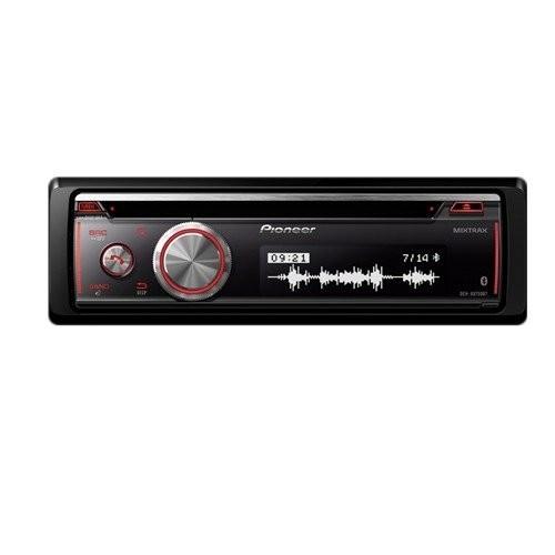 Pioneer DEH-X8750BT Car stereo w Bluetooth,CD,USB & Aux-In Single Din