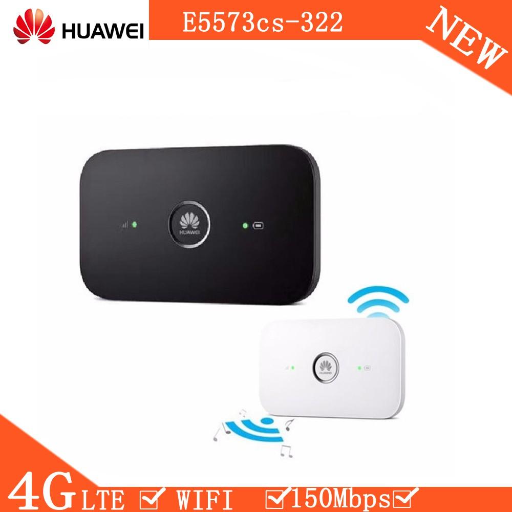 Unlocked Huawei E5573 E5573cs-322 150Mbps 3G/4G Modem Dongle Lte Wifi Router