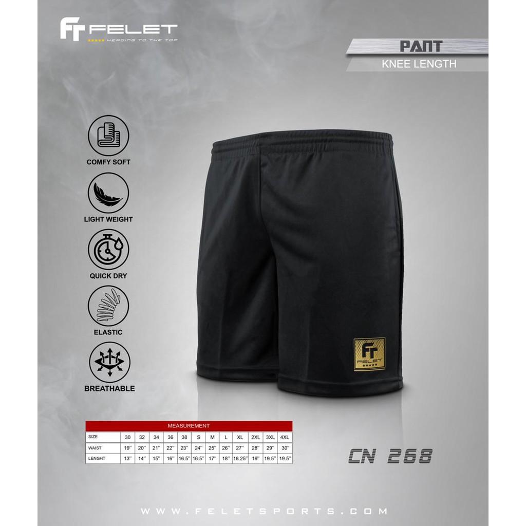 Fleet Felet Badminton Sports Short Pants CN268