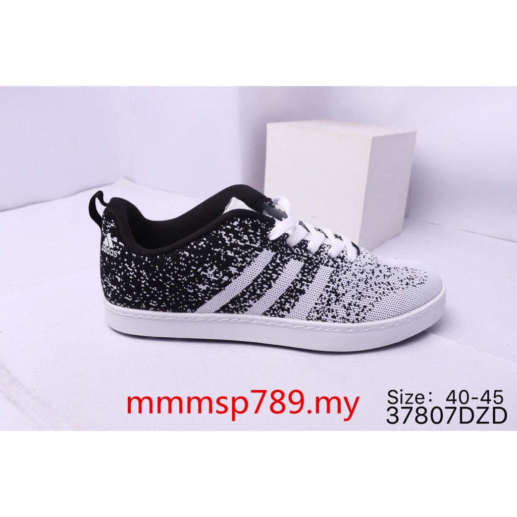 hot sale online 371cd 17a4f Adidas ZX Flux ADV Asym Grey Knitted Flying Line Low Upper Shoes