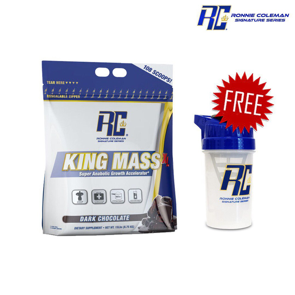 RONNIE COLEMAN KING MASS 15LBS & RONNIE COLEMAN CREATINE 120SERVINGS COMBO | Shopee Malaysia