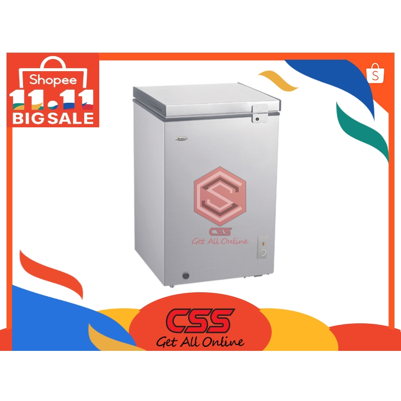 Elba Italy EF-E1310(GR) 130L Chest Freezer