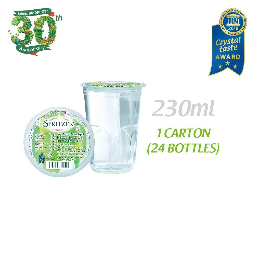Spritzer Mineral Water (230ml x 24)