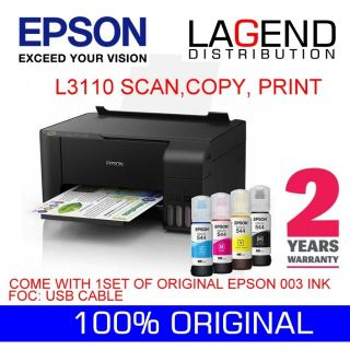 EPSON L3150 PRINT SCAN COPY WIFI ALL IN ONE