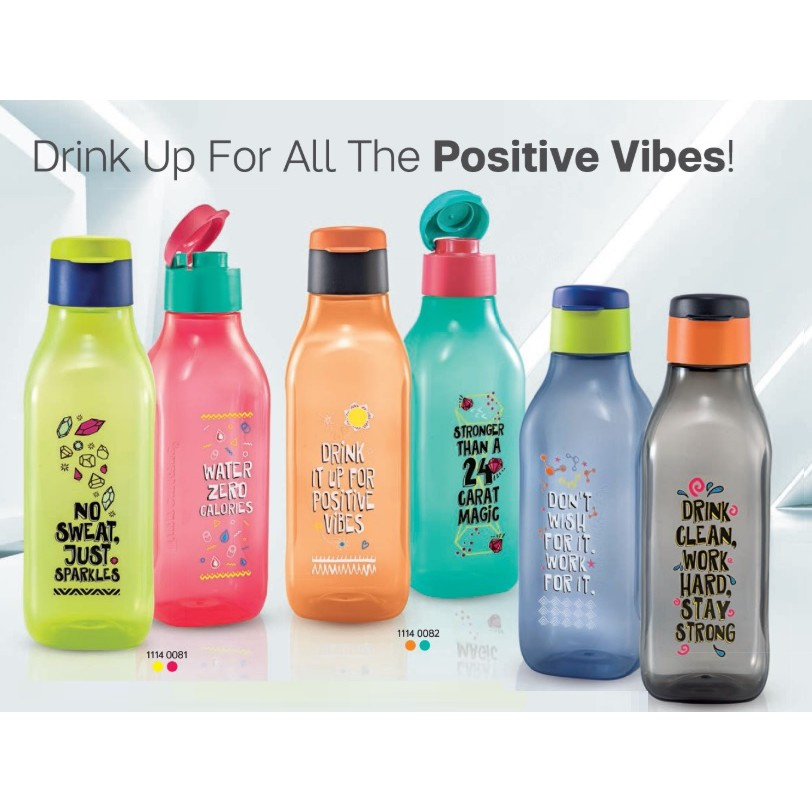 Tupperware Stay Positive Eco Bottle 1 Litre