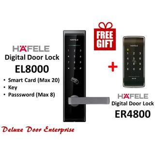 Hafele Digital Lock EL8000+Hafele Digital Lock ER4800