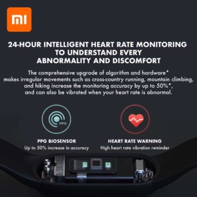 "[11.11 PROMO] Xiaomi Mi Band 5 Heart Rate Monitor miband 5 Fitness 11 sport mode 1.1"" AMOLED"
