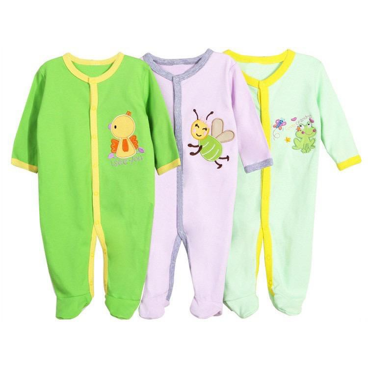 -MALAYSIA READY STOCK- AYNEW 3IN1 Baby Sleep Suit OFFER RM9.60/1 Piece x 1 Set Pakainan Baby RM9.60/1 Helai.