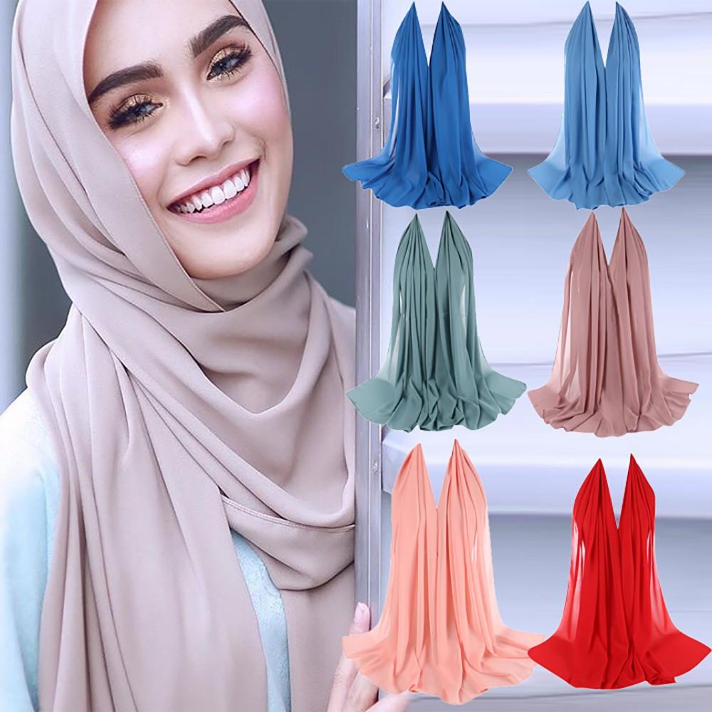 Womens lace scalloped hijab wrap summer mesh headscard shawl