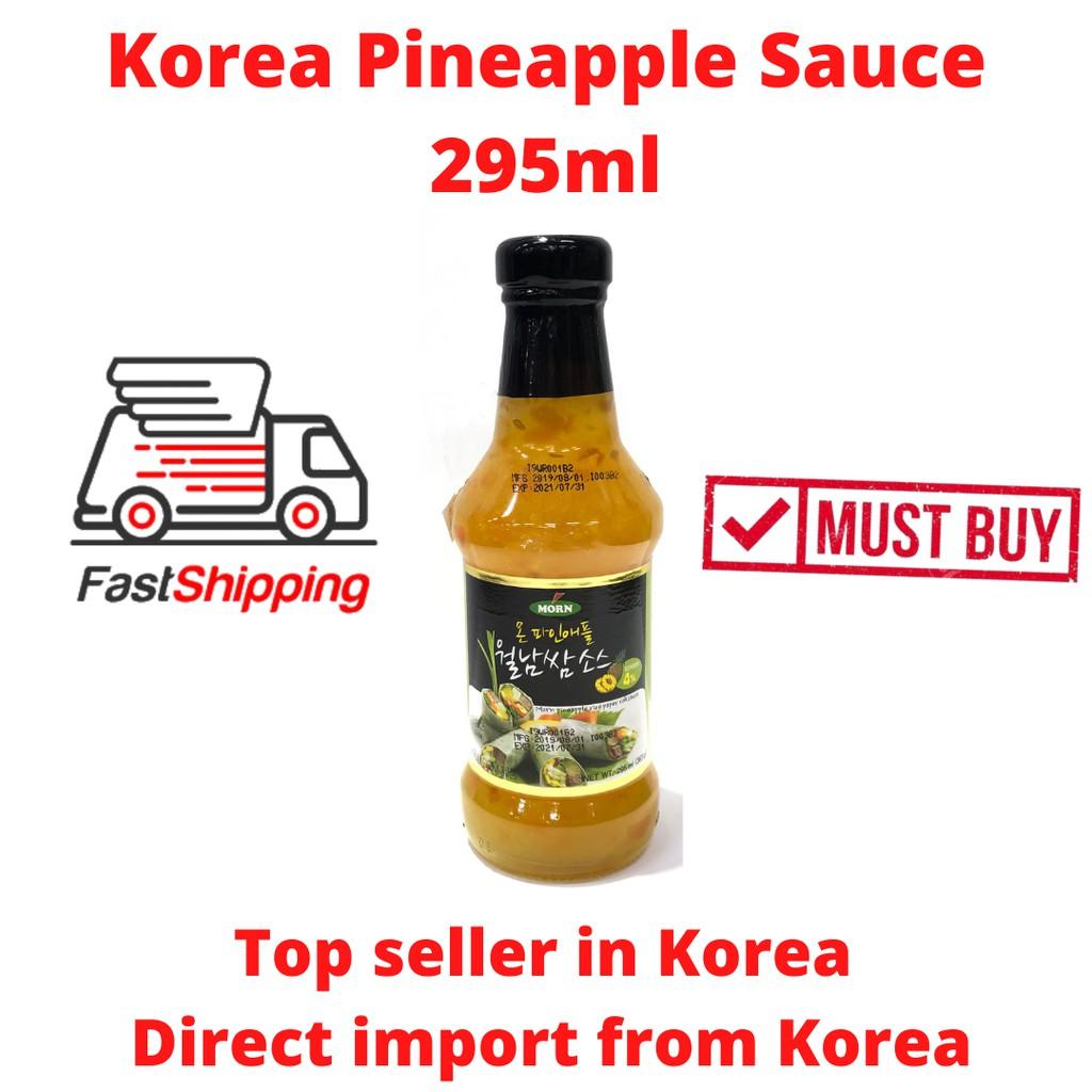 Korea Pineapple Sauce 295ml Morn Pineapple Sauce Korea
