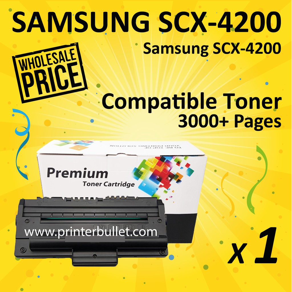 SAMSUNG 4200 / SCX-4200 / SCX4200 High Quality Compatible Laser Toner Cartridge
