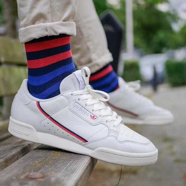 Original Adidas Continental 80 Men and women classic shoes outdoor sports shoes
