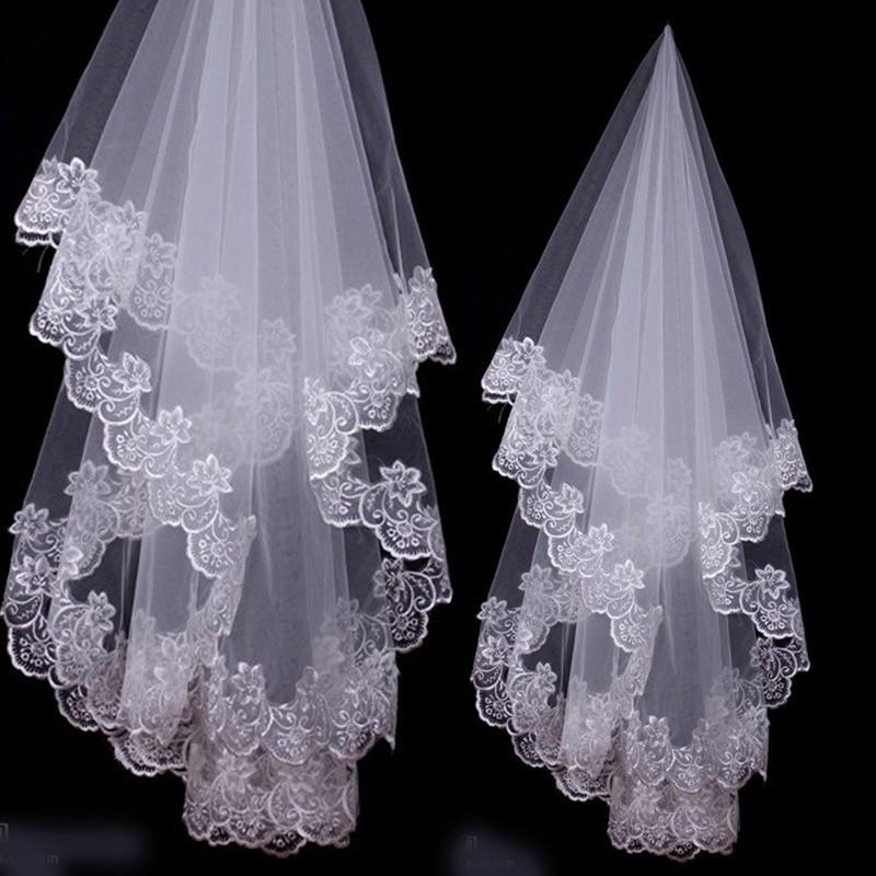 32ddfbed73247 Women's Fashion 1.5m Long Bridal Wedding Veil Wedding Head Veil