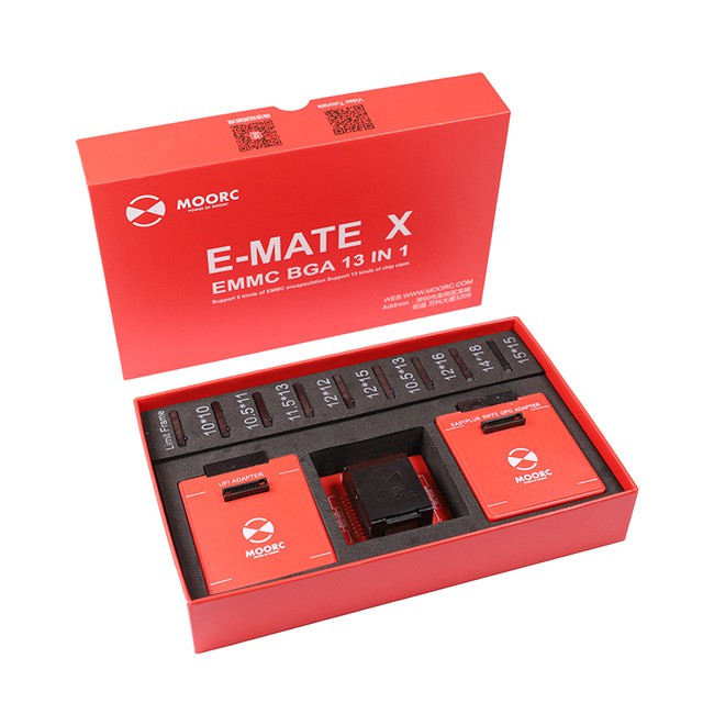 2018 New MOORC E-MATE X E MATE PRO BOX EMMC BGA 13 IN 1