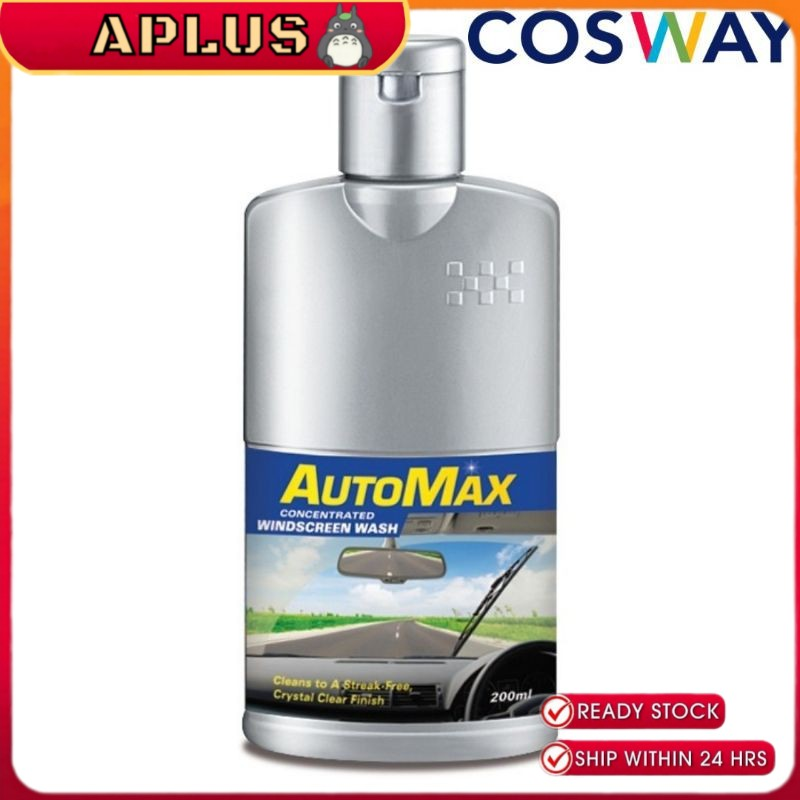 Cosway AutoMax Concentrated Windscreen Wash 200ml